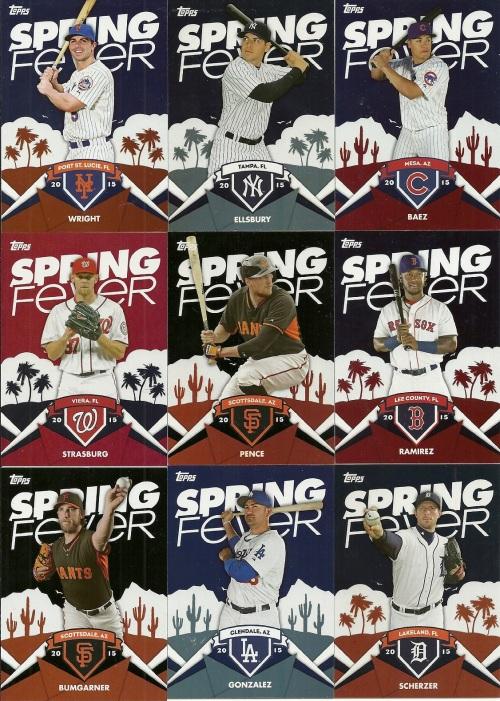 2015 Topps Spring Fever