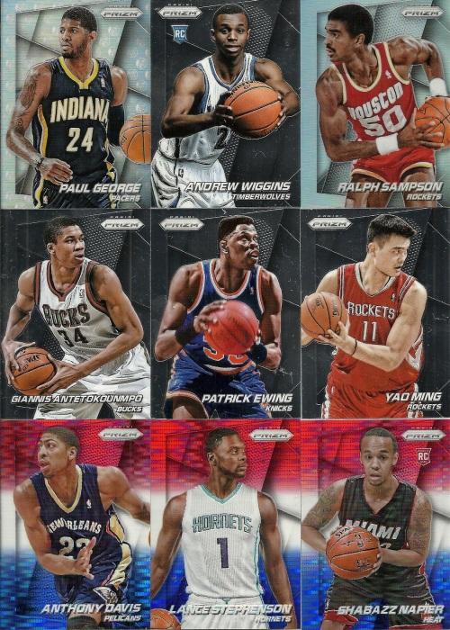 Rack Pack of 2014-15 Panini Prizm Basketball