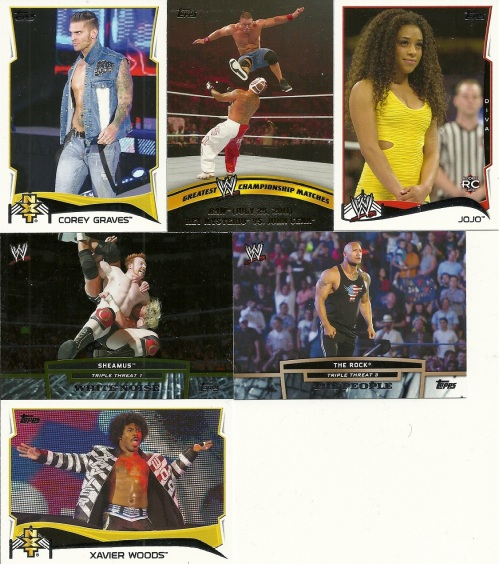 Topps WWE Cards