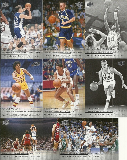 2014-15 Upper Deck NCAA March Madness Cards
