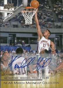 Kendell Gill Autograph