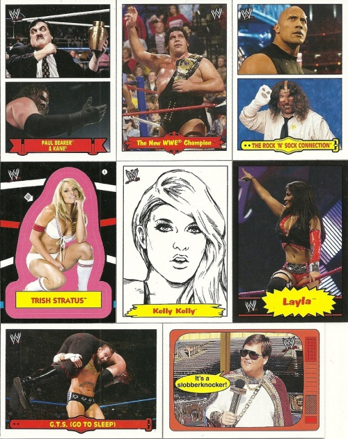 More 2012 Topps WWE Heritage