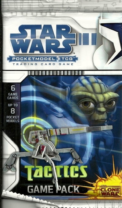 Star Wars Pocketmodel TCG Tactics Game Pack