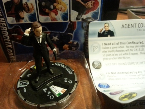 Agent Coulson Heroclix