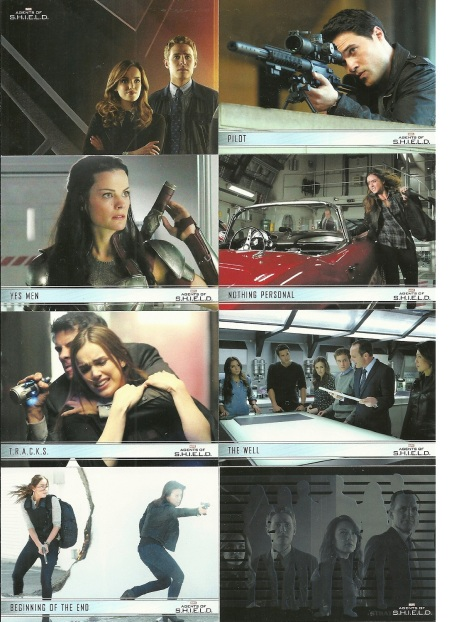 Rittenhouse Archives Marvel Agents of SHIELD Base Cards