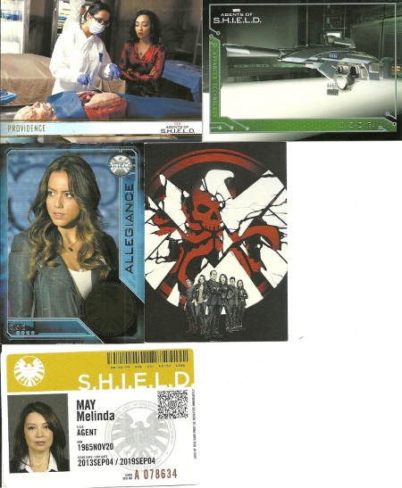 Rittenhouse Archives Marvel Agents of SHIELD Inserts