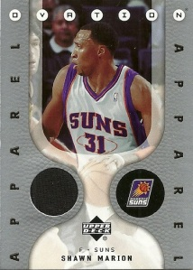 Shawn Marion Jersey Card