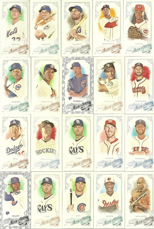 2015 Allen & Ginter Mini