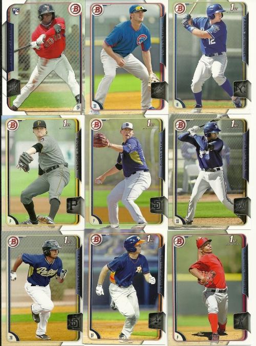 2015 Bowman Baseball 1