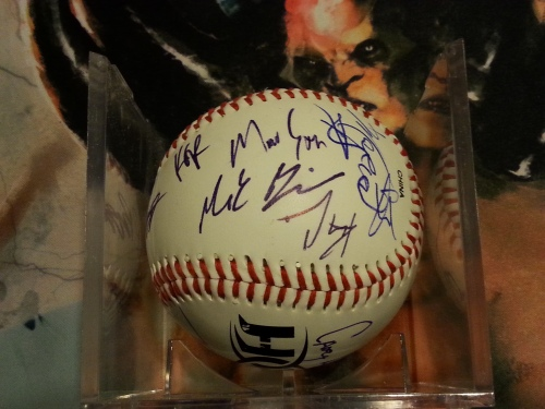 Ring of Honor Signed Baseball