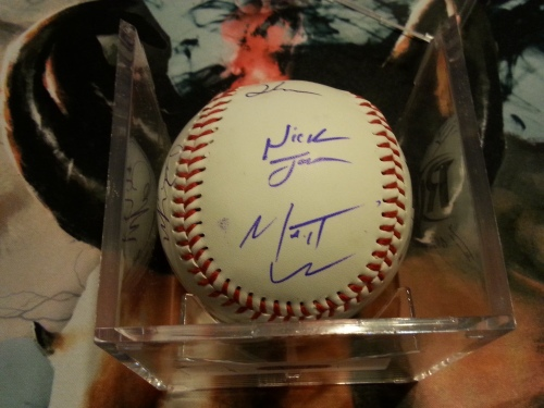 Ring of Honor Signed Baseball 2