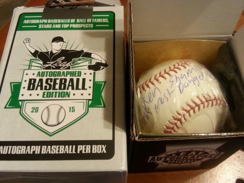 2015 Leaf Autographed Baseball Edition