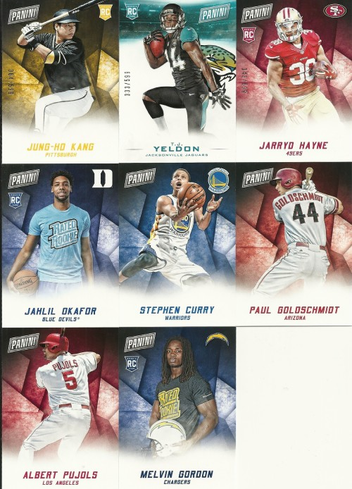 2015 Panini Black Friday