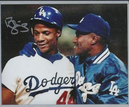 Darryl Strawberry & Eric Davis Autograph