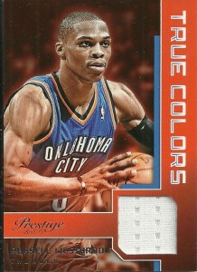 Russell Westbrook Jersey Card