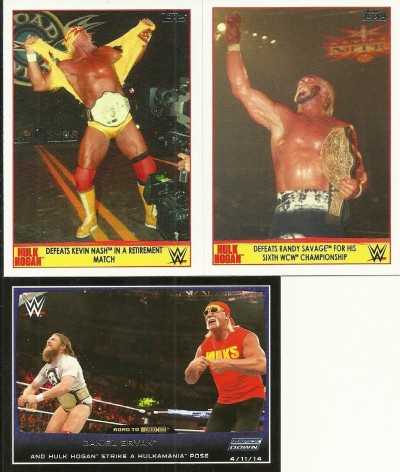 Topps Road to Wrestlemania Hulk Hogan