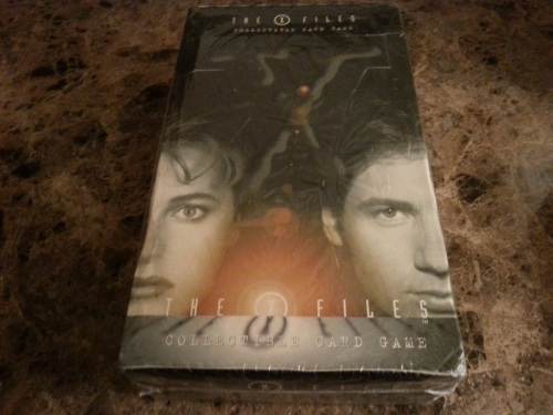 The XFiles CCG Booster Box