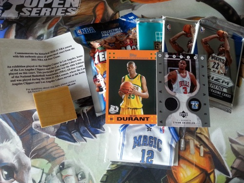 Basketball Floor Box Repack Contents