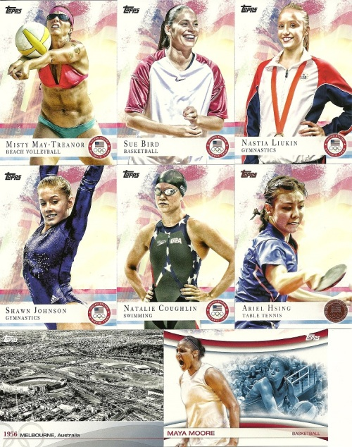 2012 Topps US Olympic Team & Olympic Hopefuls