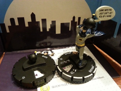 Batman with Bomb Heroclix