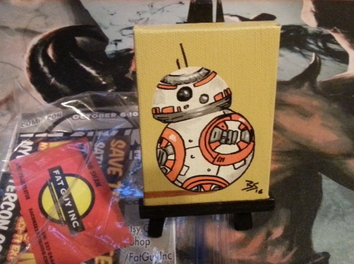 BB 8 Mini Painting