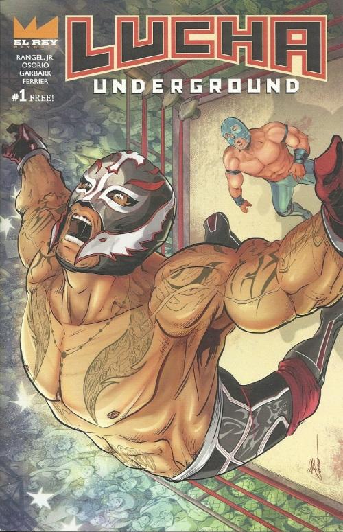 Lucha Underground Comic