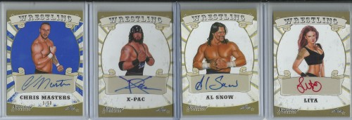 Wrestling Autographs
