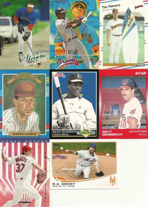 odd baseball cards