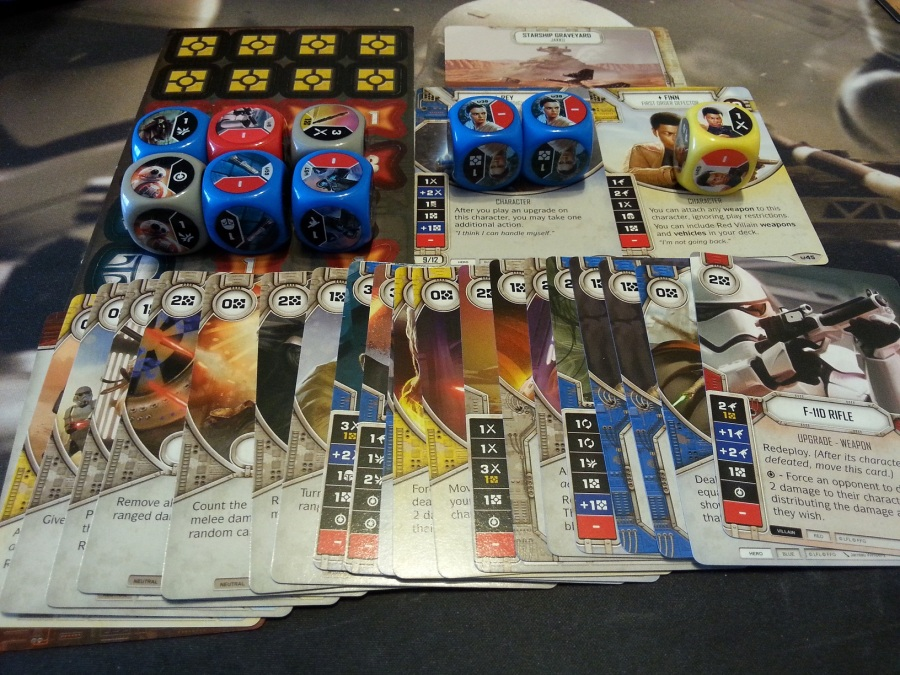 Star Wars Destiny Rey and Finn Starter Deck