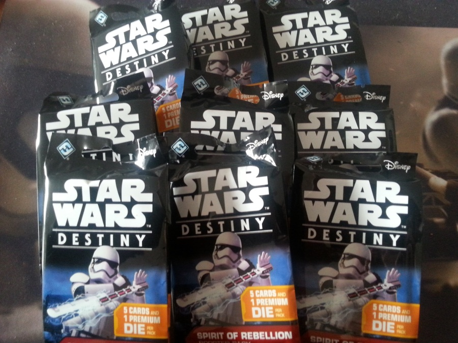 Star Wars Destiny Spirit of the Rebellion Packs