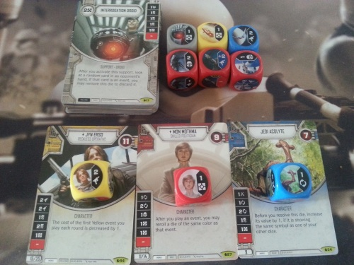 Star Wars Destiny Spirit of the Rebellion Pulls