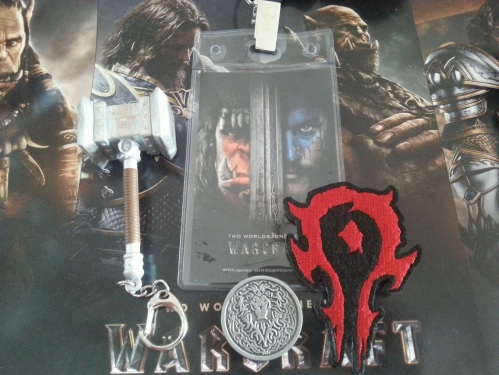 Think Geek Warcraft Epic Box Contents