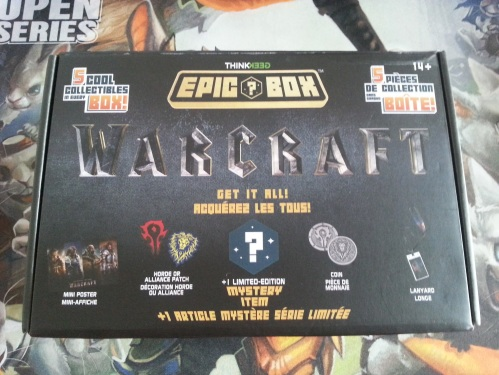 Think Geek Warcraft Epic Box