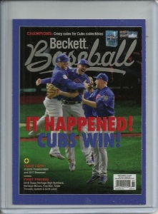 Beckett Baseball Card