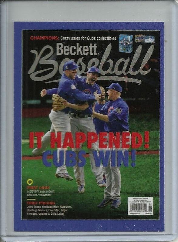 Beckett Baseball Card