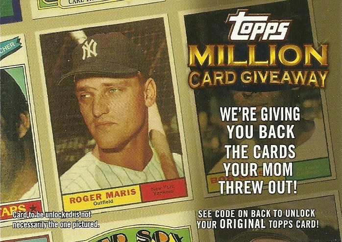 Topps Million Card Giveaway