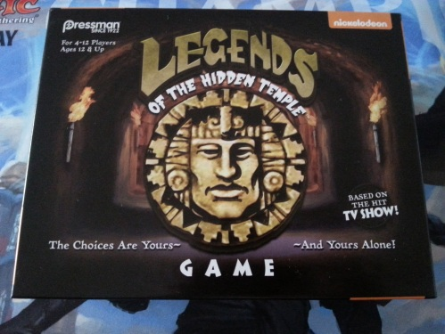 Legends of the Hidden Temple Board Game