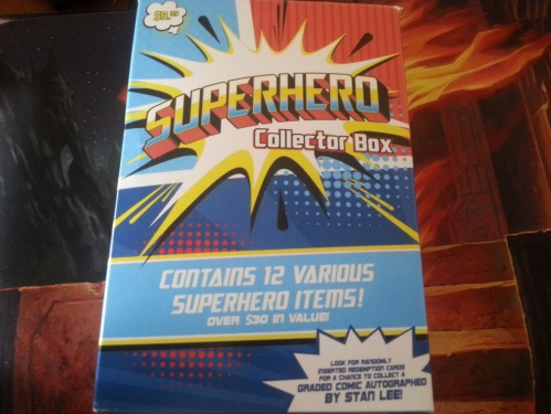 Superhero Collector Box