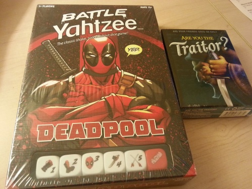 Deadpool Yahtzee Are You the Traitor