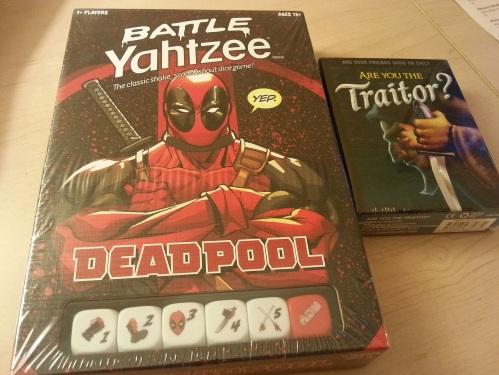 Deadpool Yahtzee Are You the Traitor
