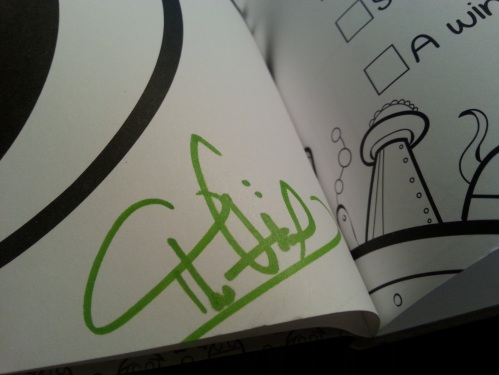 404 Not Found Coloring Book Signed By The Oatmeal Shot Not Taken
