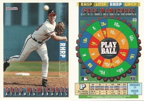 Topps Bazooka Baseball Card