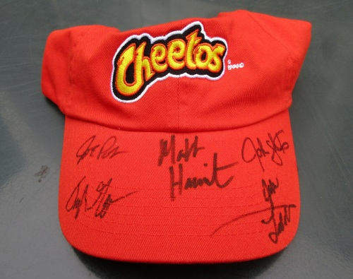 USA Curling Team Signed Hat
