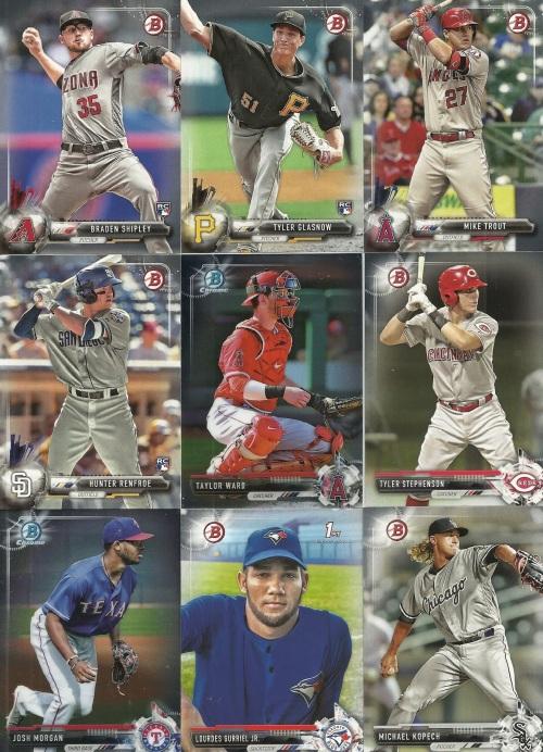 2017 Bowman Baseball