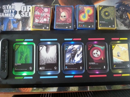 Dropmix Board and Cards