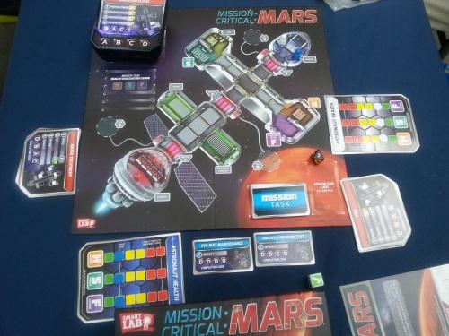 Mission Critical Mars Board