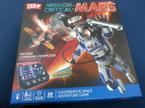 Mission Critical Mars Box Front