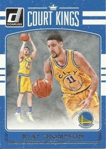 Klay Thompson Basketball Card