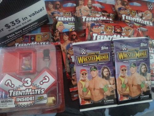 WWE Mystery Box