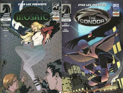 Mosaic and The Condor Comics